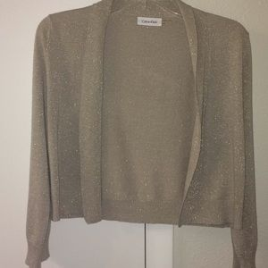 Sparkle cropped sweater